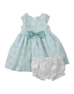 Платье HUCKLEBONES. Цвет: светло-зеленый