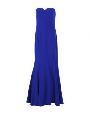 Длинное платье MUSANI COUTURE. Цвет: ярко-синий