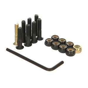 Винты для скейтборда  В Монетнице Green/Black/Gold Allen 1 (8 x Pack) Nomad. Цвет: черный,желтый