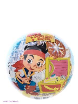 Мяч Джек и пираты Нетландии John. Цвет: голубой, розовый