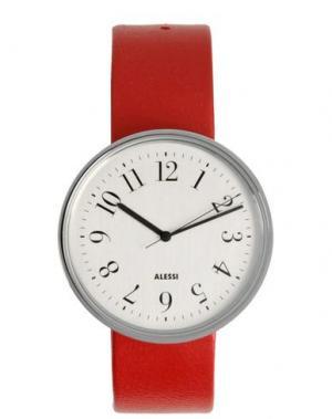 Наручные часы ALESSI. Цвет: красный
