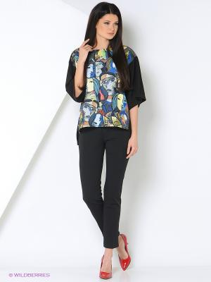 Кофточка IrisRose. Цвет: черный, синий, зеленый, бежевый