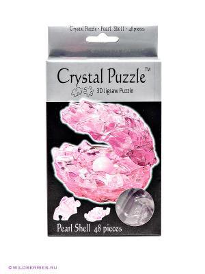 3D Головоломка Жемчужина Crystal puzzle. Цвет: розовый