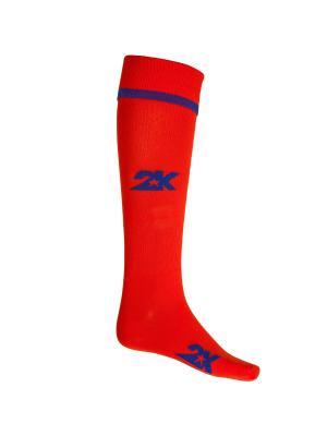 Гетры футбольные 2К Betis 2K. Цвет: красный, синий