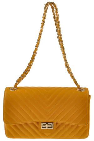 Сумка FLORENCE BAGS. Цвет: yellow