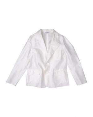 Пиджак DOLCE & GABBANA. Цвет: белый