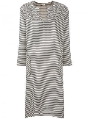Платье-туника Toteme. Цвет: телесный