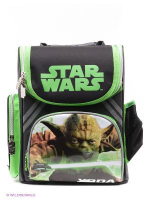 Рюкзак Звездные войны Играем вместе. Цвет: черный, зеленый