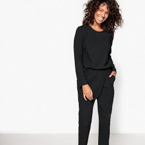 Комбинезон с брюками-шароварами La Redoute Collections. Цвет: темно-зеленый,черный,шоколадный