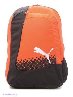 Рюкзак evoPOWER Football Backpack Puma. Цвет: терракотовый, красный, черный, серый
