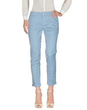 Повседневные брюки VICOLO. Цвет: пастельно-синий