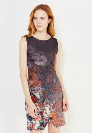 Платье Desigual. Цвет: разноцветный