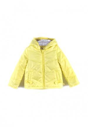 Куртка утепленная Coccodrillo. Цвет: желтый