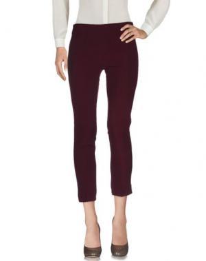 Повседневные брюки MY SIS. Цвет: баклажанный