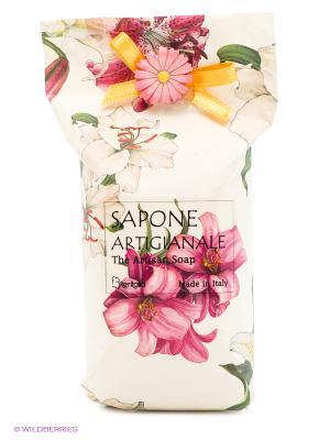 Натуральное косметическое мыло  аромат Лилия Iteritalia. Цвет: белый