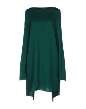 Короткое платье BP STUDIO. Цвет: зеленый