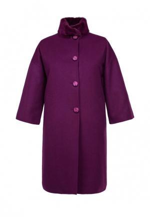 Пальто Heresis. Цвет: фиолетовый
