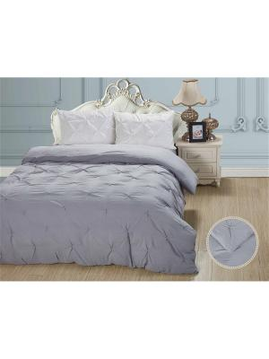 Комплекты постельного белья, Ферреро, 1.5 спасльный KAZANOV.A.. Цвет: серый, белый