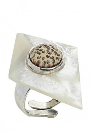 Кольцо Nature bijoux. Цвет: белый