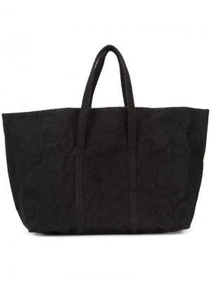 Пляжная сумка Zilla. Цвет: чёрный