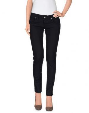 Повседневные брюки 2TWO. Цвет: темно-синий