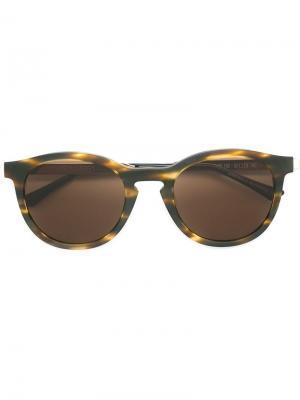 Солнцезащитные очки Boundary Thierry Lasry. Цвет: металлический