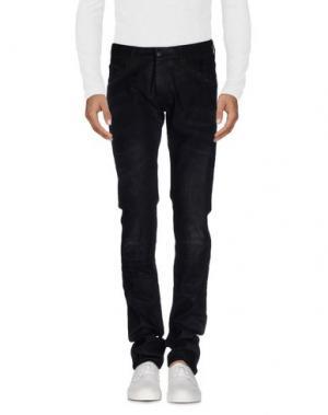 Джинсовые брюки ARI. Цвет: черный