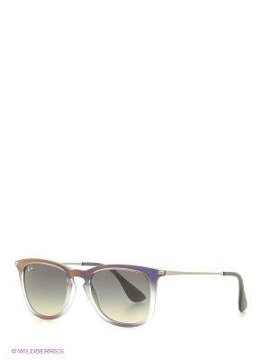 Солнцезащитные очки Ray Ban. Цвет: фиолетовый