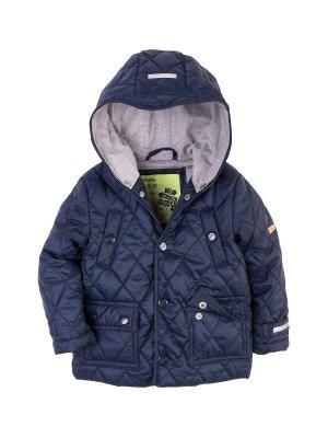 Куртка стеганая Endo. Цвет: темно-синий