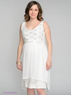 Платье Love2Wait. Цвет: белый