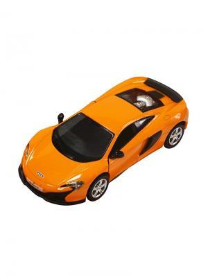 Машинка Инерционная McLaren 650S, Оранжевая (1:32) (PS-554992-O) Pit Stop. Цвет: оранжевый