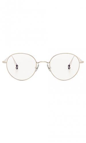 Солнцезащитные очки lena Ahlem. Цвет: металлический серебряный