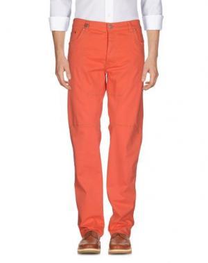 Повседневные брюки NICWAVE. Цвет: лососево-розовый