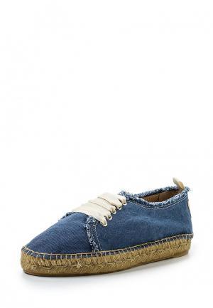Ботинки Castaner. Цвет: синий