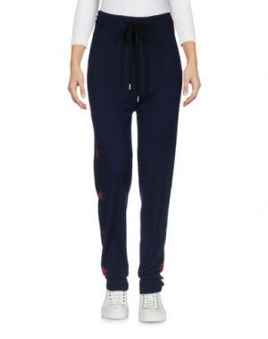 Повседневные брюки MARKUS LUPFER. Цвет: темно-синий
