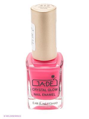Лак для ногтей, 412 тон GA-DE. Цвет: розовый