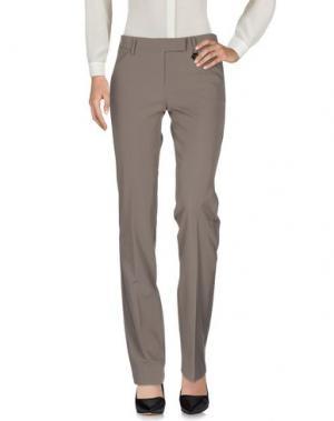 Повседневные брюки X'S MILANO. Цвет: серый