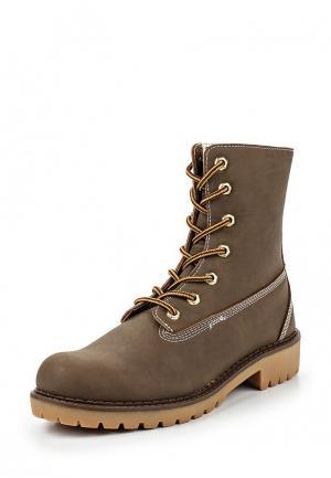Ботинки CLAUDIA GHIZZANI. Цвет: коричневый