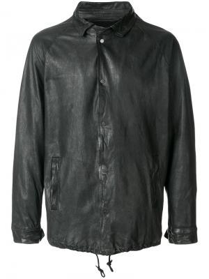 Куртка с застежкой на кнопки Salvatore Santoro. Цвет: чёрный