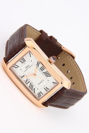 Часы IBSO. Цвет: золото, коричневый