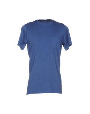 Футболка UNIFORM. Цвет: синий