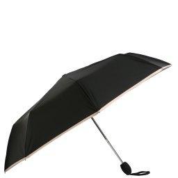 Зонт полуавтомат  61 черный JEAN PAUL GAULTIER