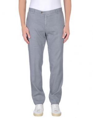 Джинсовые брюки MAESTRAMI. Цвет: серый