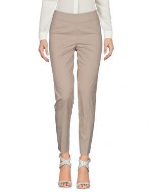 Повседневные брюки ROSSO35. Цвет: голубиный серый