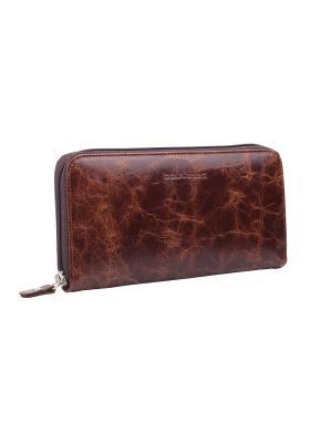 Бумажник Севилья Bouletta. Цвет: коричневый