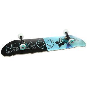 Скейтборд в сборе  Норд Х Моно Light Blue/Black 32.5 x 8.5 (21.6 см) Nord. Цвет: голубой,черный