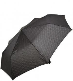 Складной зонт с пластиковой ручкой Doppler. Цвет: серый