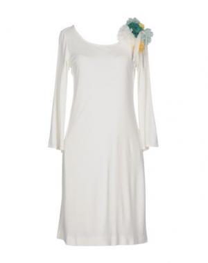 Короткое платье ANNA RACHELE BLACK LABEL. Цвет: белый