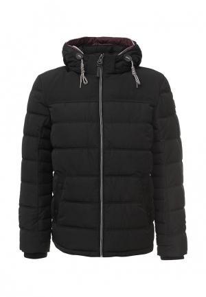 Куртка утепленная Tom Tailor. Цвет: черный