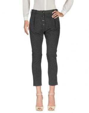 Повседневные брюки BIANCOGHIACCIO. Цвет: свинцово-серый